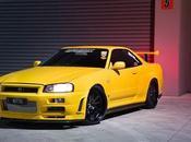Nissan Skyline V-Spec. rayo amarillo 1000cv