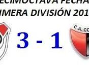 River Plate:3 Colón:1 (Fecha 18°)