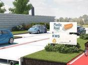 Chau pavimento: vienen autopistas plástico