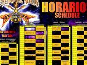 Horarios festival Leyendas Rock 2015