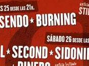 Azuqueca Live Festival 2015: Rosendo, Burning, Izal, Second, Sidonie, Dinero...