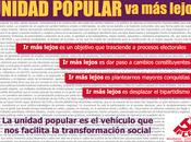 #UnidadPopularVaMasLejos
