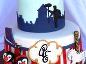 Tarta mary poppins para fiesta pre-boda