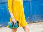 perfect mustard dress
