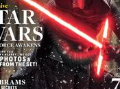 """""""star wars: despertar fuerza"""": portada exclusiva kylo nuevas imagenes desde enternainment weekly"""