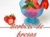 Sorbete fresas