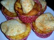 Cupcakes tortilla sabor pizza