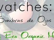 Swatches: Sombras Ojos Nvey Eco!!!