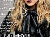 Elizabeth Olsen posa negro Dior para L'Officiel Paris