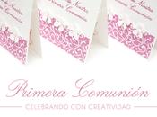 Celebrando Creatividad! Invitaciones Recuerdos para Primera Comunión.