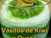 Vasitos kiwi queso mascarpone
