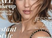 Jessica Alba luce glamurosa portada septiembre Allure
