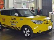 Municipio Loja Motors exponen taxi eléctrico implementará cantón.