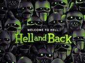 Teaser póster band trailer película animación stop-motion para adultos 'hell back'