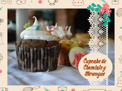 Receta fácil Cupcake Chocolate rellenos Merengue