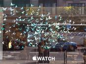 galerías Selfridges Londres llenan flores para promocionar Apple Watch
