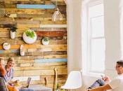 Revestir pared madera