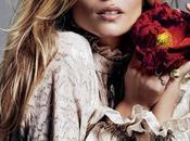Natasha Poly luce increíble para editorial Glamour Rusia