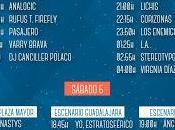 Horarios Festival Gigante 2015