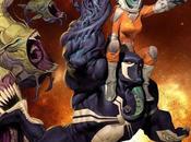 "gran regreso Ariel Olivetti Marvel ,""Venom: Spaceknight"""
