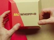 Burger King propone hamburguesa McDonald's (que quiso)