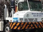 puerto Shanghái comienza probar camiones híbridos