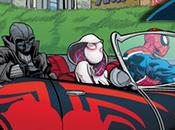 portadas variantes tipo Hip-Hop enfocadas Spider-Man