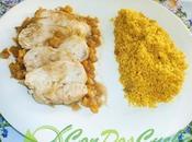 Pechuga pollo agridulce aroma canela