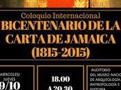 Bicentenario Carta Jamaica Museo Pueblo Libre, 9-10 septiembre