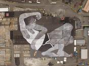 mural grande mundo 21000 metros azotea Noruega