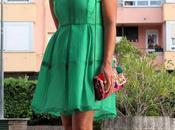 looks vestido verde teria yabar santander