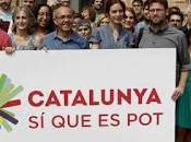Catalunya Pot, cómo evitar Podemos coma tema catalán