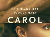 "Primer póster oficial ""carol"", drama romantico cate blanchett ronney mara"