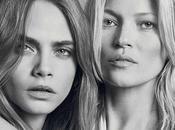traemos video campaña invierno Kate Moss Cara Delevingne