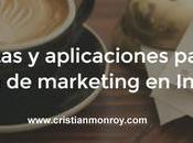 herramientas aplicaciones para mejorar estrategia marketing Instagram