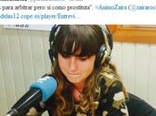 "#AnimoZaira: años deja arbitraje tras escuchar vales para árbitro, prostituta"". Entrevista Cope"