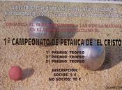 """Campeonato Petanca Cristo"""". Almadén"""