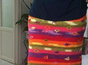 Falda Crochet agujeritos