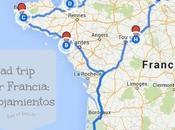 Road-trip Francia: alojamientos