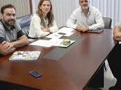 Reunión dirección general participación equidad. consejería educación. junta andalucia