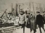 Santander 1941: visita general lopez pinto ciudad tras incendio