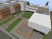 Réplica Minecraft Escuela Politécnica Superior (UBU) Burgos, España.