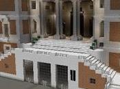 Réplica Minecraft Museo Nacional Prado, Madrid, España.