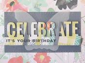 """Tarjetas """"Celebrate... it's your birthday!"""""""