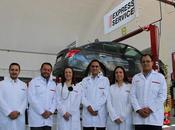 Nissan presentó nuevo Express Service tres ciudades.