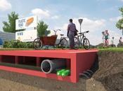 futuras vías holandesas hechas plástico reciclado unirán como LEGO