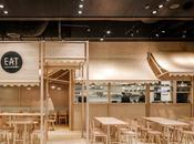 Diseño madera, restaurante Bangkok