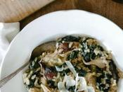 receta otoñal, Risotto kale pipas calabaza