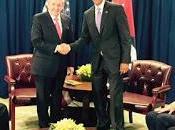 Raúl Castro Barack Obama reunieron