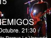 Conciertos gratis fiestas Barrio Pilar (Madrid) 2015: Enemigos, Excepción, Martirio...